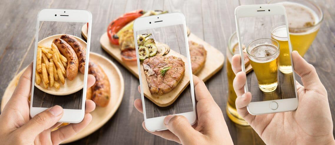 restaurant social media events